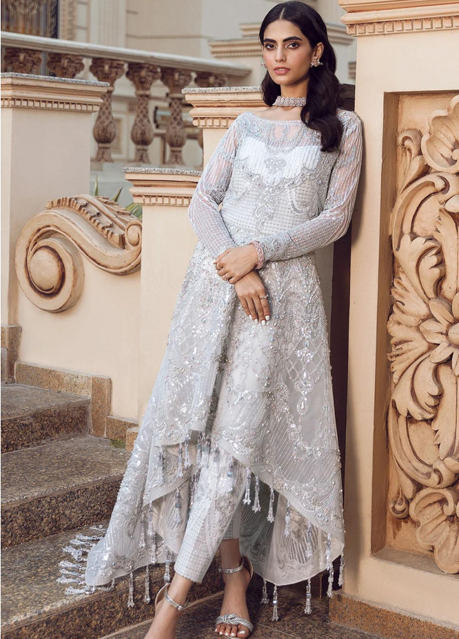 Reignaissance By Reign Embroidered Net Suits Unstitched 3 Piece RGN21WD Rhea - Wedding Collection