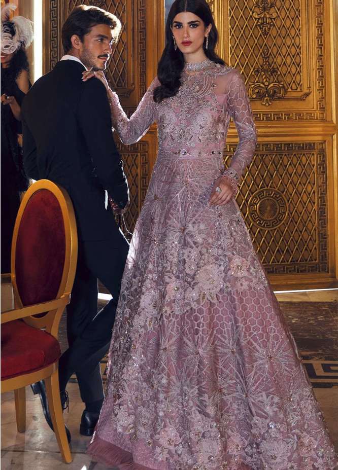 Reignaissance By Reign Embroidered Net Suits Unstitched 3 Piece RGN21WD PENTHIA - Wedding Collection