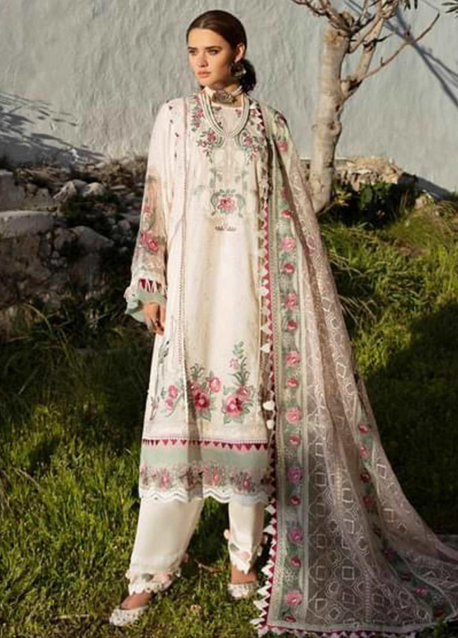 Selene By Republic WomensWear Embroidered Lawn Suits Unstitched 3 Piece RW21S Aydin B - Luxury Collection