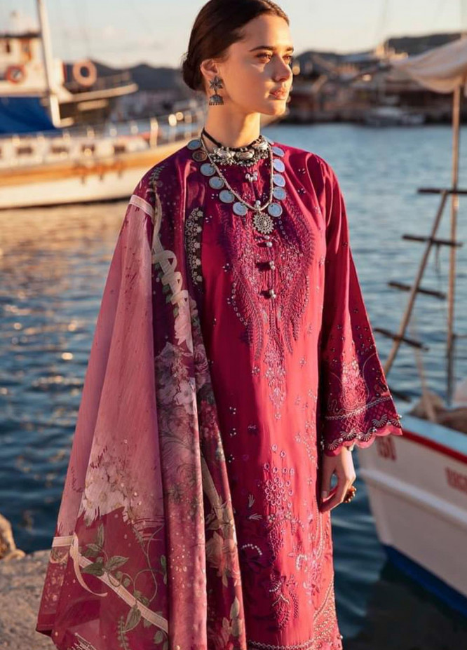 Selene By Republic WomensWear Embroidered Lawn Suits Unstitched 3 Piece RW21S Celal A - Luxury Collection