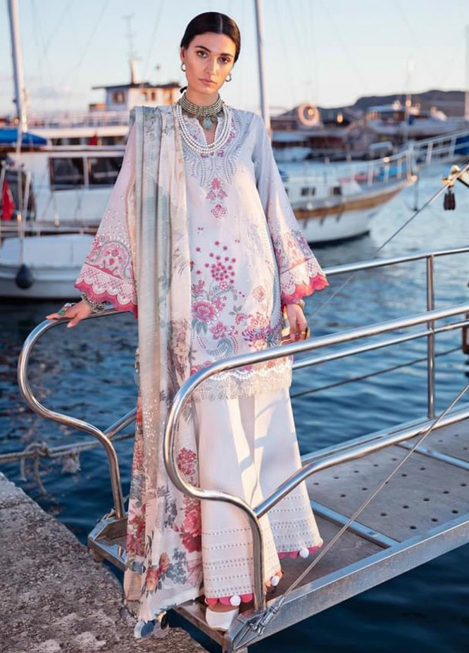 Selene By Republic WomensWear Embroidered Lawn Suits Unstitched 3 Piece RW21S Celal B - Luxury Collection