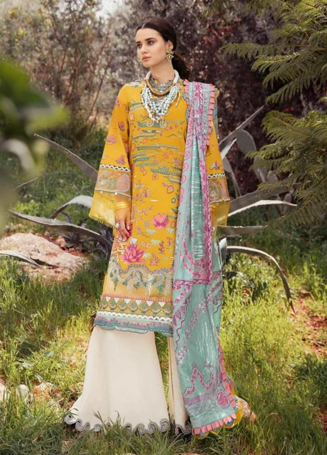 Selene By Republic WomensWear Embroidered Lawn Suits Unstitched 3 Piece RW21S Nargis B - Luxury Collection