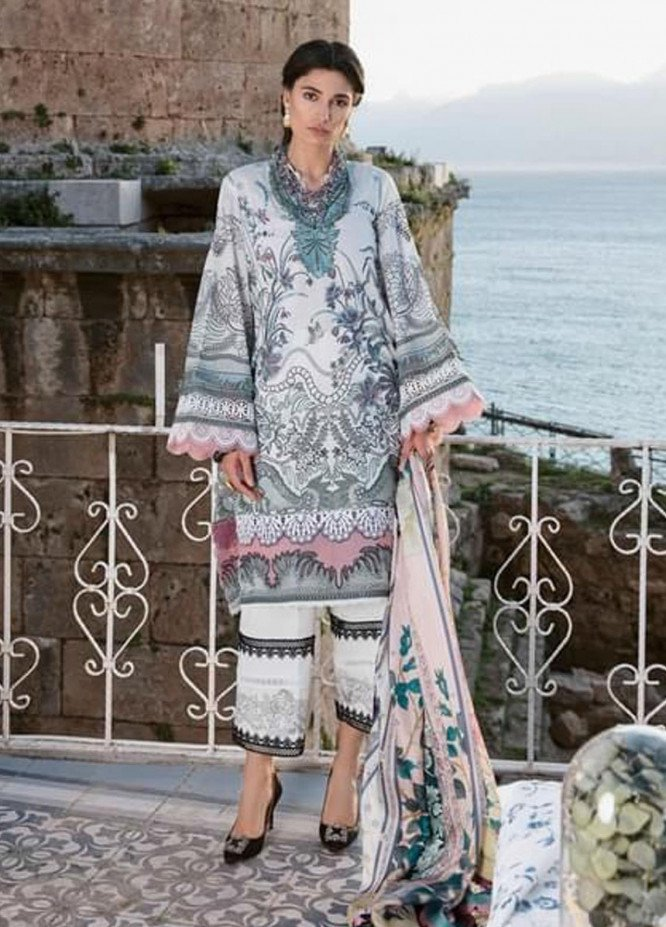 Selene By Republic WomensWear Embroidered Lawn Suits Unstitched 3 Piece RW21S Zeena B - Luxury Collection