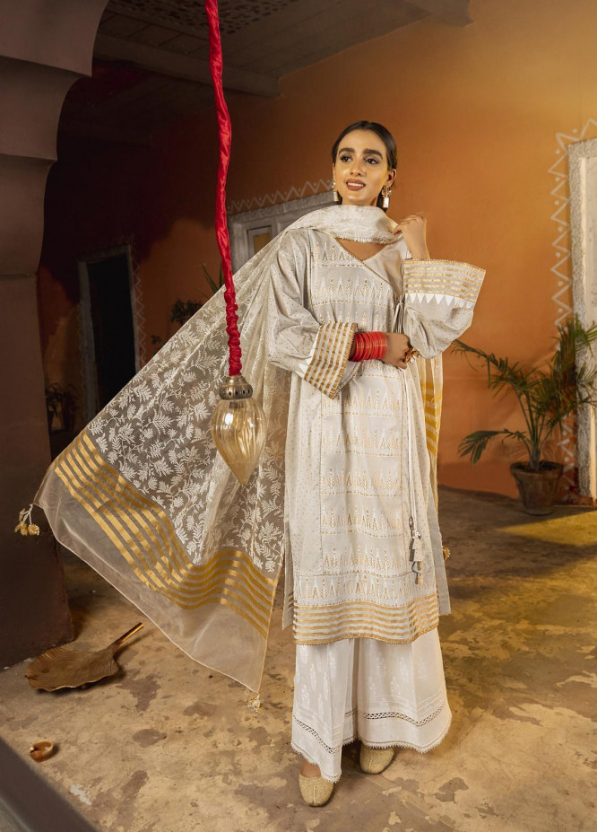 Riwaj by Nuriyaa Embroidered Lawn Suits Unstitched 3 Piece NR21R ZAIB-Ul-LAILA - Luxury Collection