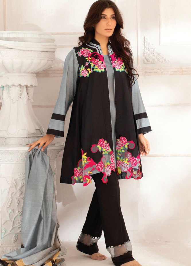 Runa Laila by Rub Nawaz Embroidered Cotton Unstitched 3 Piece Suit RN20RL 04 - Winter Collection