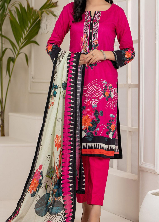 Salina by Regalia Textiles Printed Lawn Unstitched 3 Piece Suit RGT21S 01 - Summer Collection