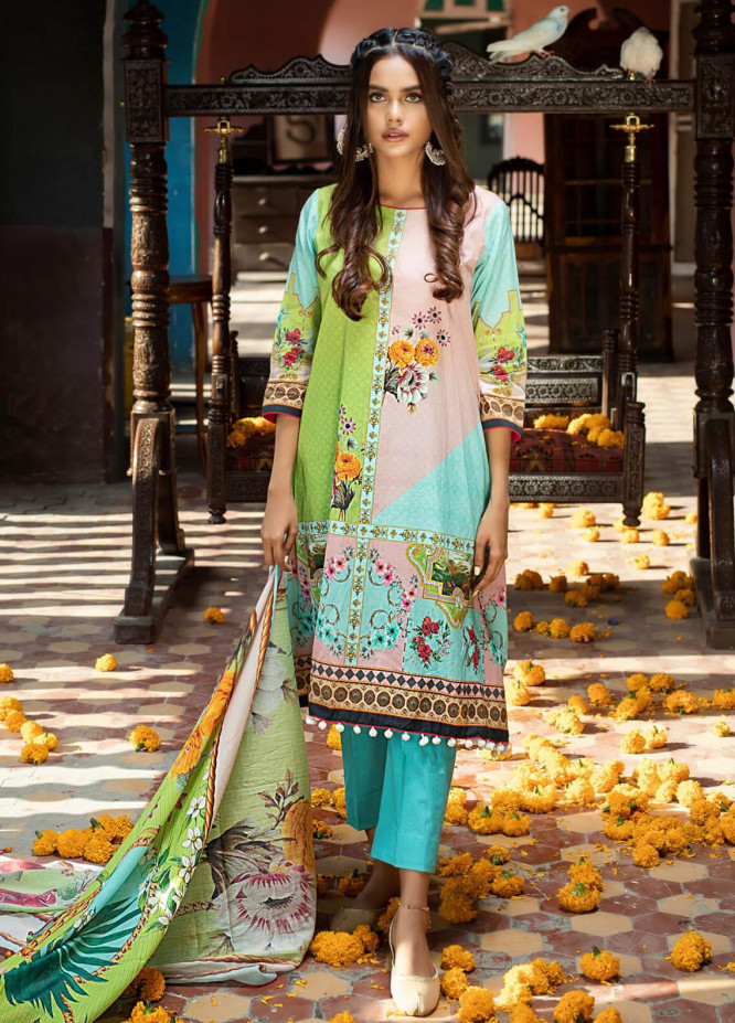 Salina by Regalia Textiles Printed Lawn Unstitched 3 Piece Suit SP20RG 04 - Summer Collection