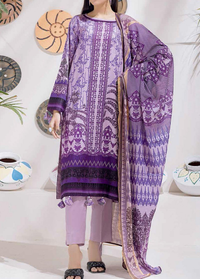 Salitex Printed Cambric Suits Unstitched 3 Piece SL21IG IP-00103A - Winter Collection