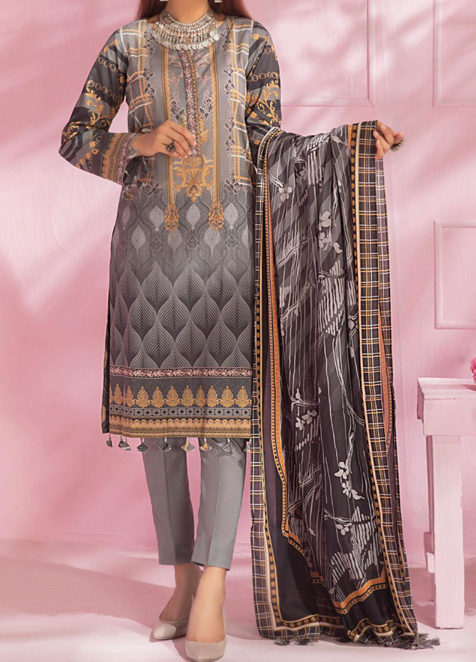 Malabis By Salitex Printed Lawn Suits Unstitched 3 Piece ST21M 00070 - Summer Collection