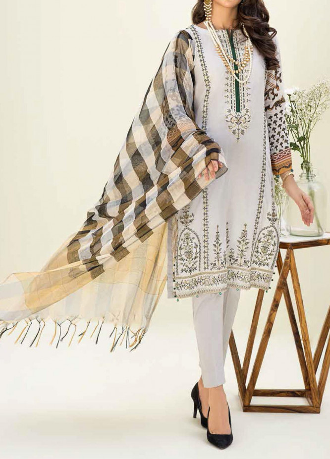 Salitex Embroidered Lawn Suits Unstitched 3 Piece SL21SF WK-00776 - Festive Collection