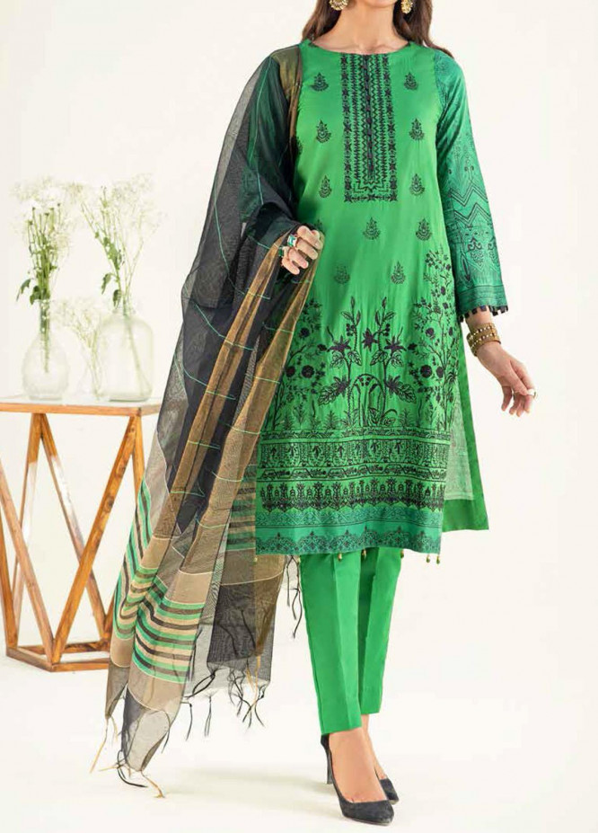 Salitex Embroidered Lawn Suits Unstitched 3 Piece SL21SF WK-00784 - Festive Collection