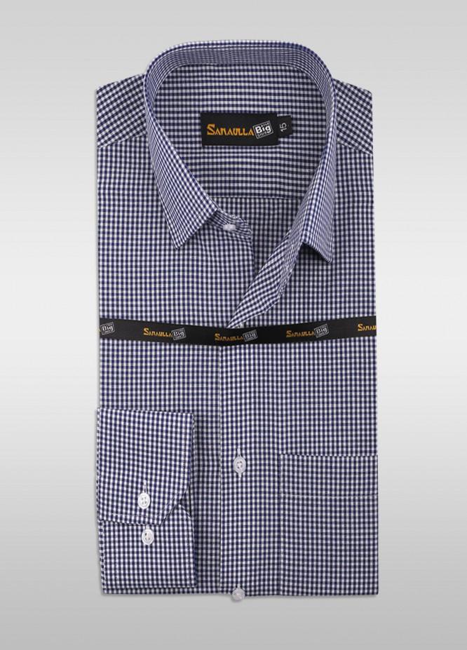 Sanaulla Exclusive Range Cotton Formal Men Shirts -  SU21GR 04-Grey