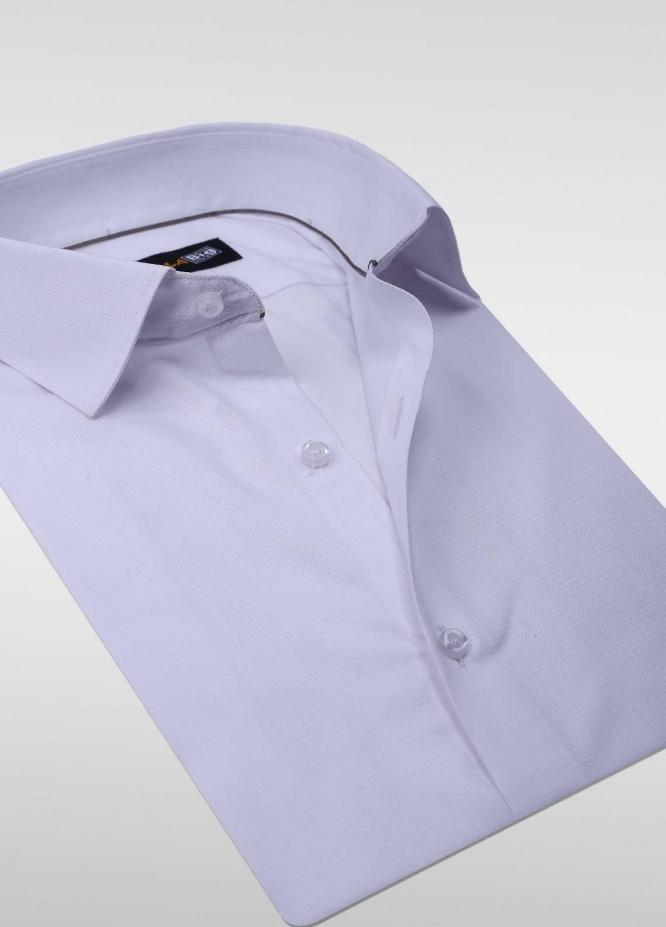 Sanaulla Exclusive Range 80/20 Formal Men Shirts -  SU20PS C-746-White