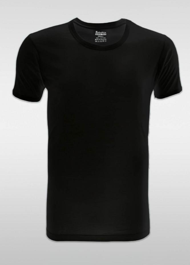 Sanaulla Exclusive Range Cotton Casual Vest for Men -  SU21V 6107 Black