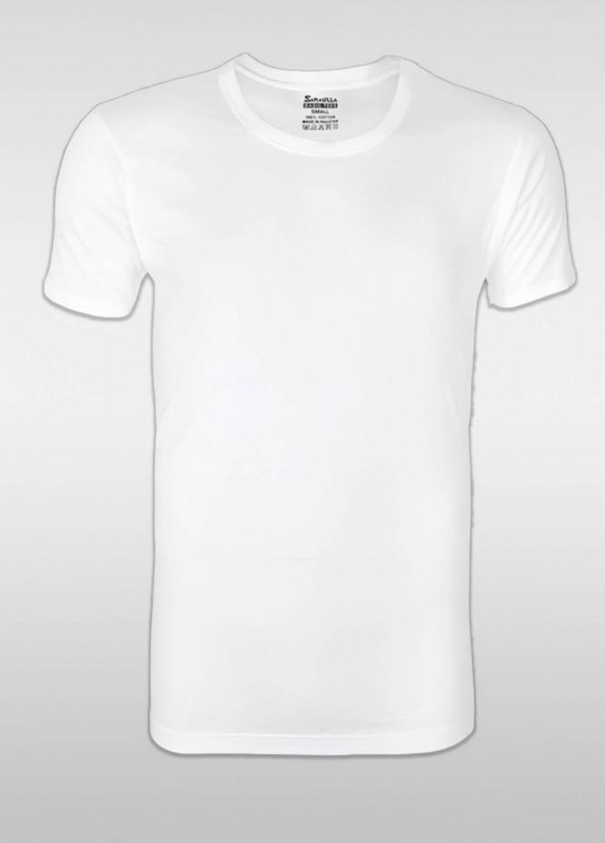 Sanaulla Exclusive Range Cotton Casual Men Vest -  SU21V 6107 White