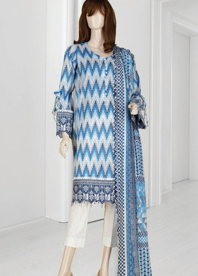 Mushk By Saya Printed Lawn Suits Unstitched 3 Piece SY21MUB-2108-11B OMNIA - Summer Collection
