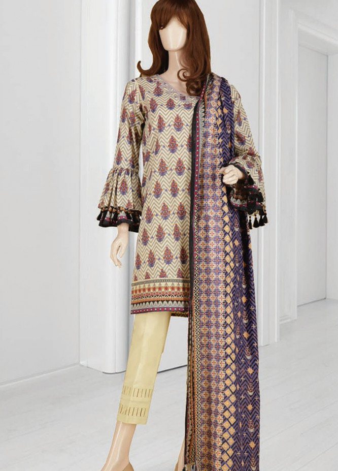 Mushk By Saya Printed Lawn Suits Unstitched 3 Piece SY21MUB-2108-15A ABEERAH - Summer Collection