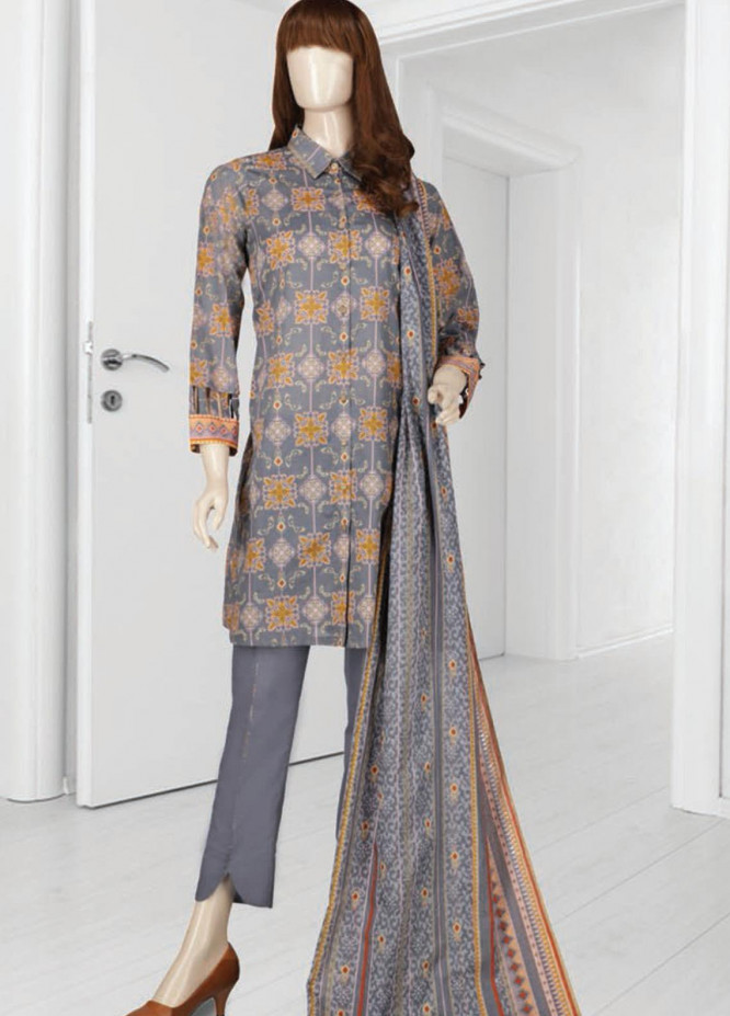 Mushk By Saya Printed Lawn Suits Unstitched 3 Piece SY21MUG-2108-14A DIWAN - Summer Collection