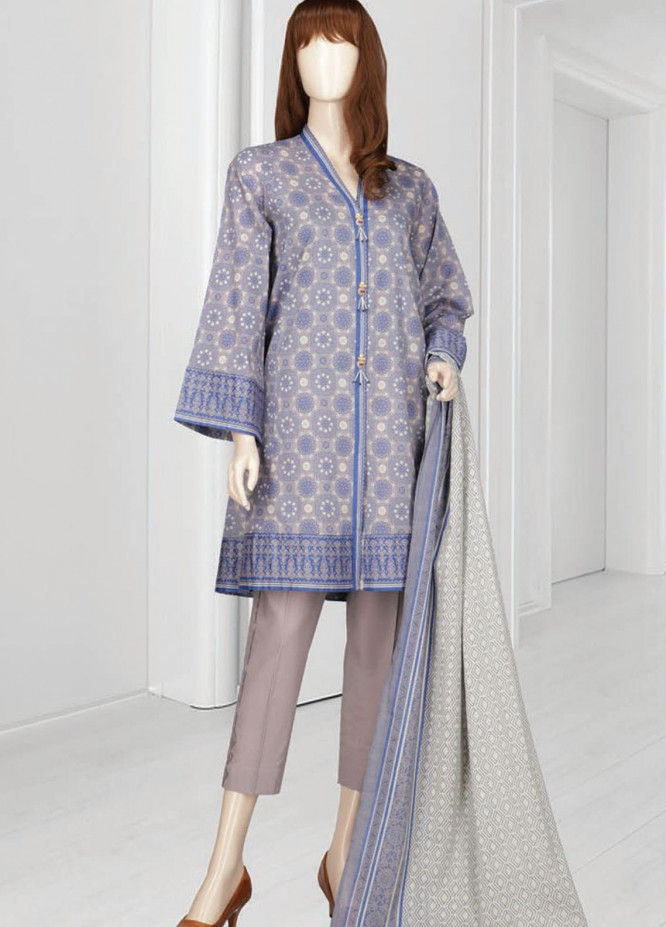 Mushk By Saya Printed Lawn Suits Unstitched 3 Piece SY21MUG-2108-8B ARABIAN - Summer Collection