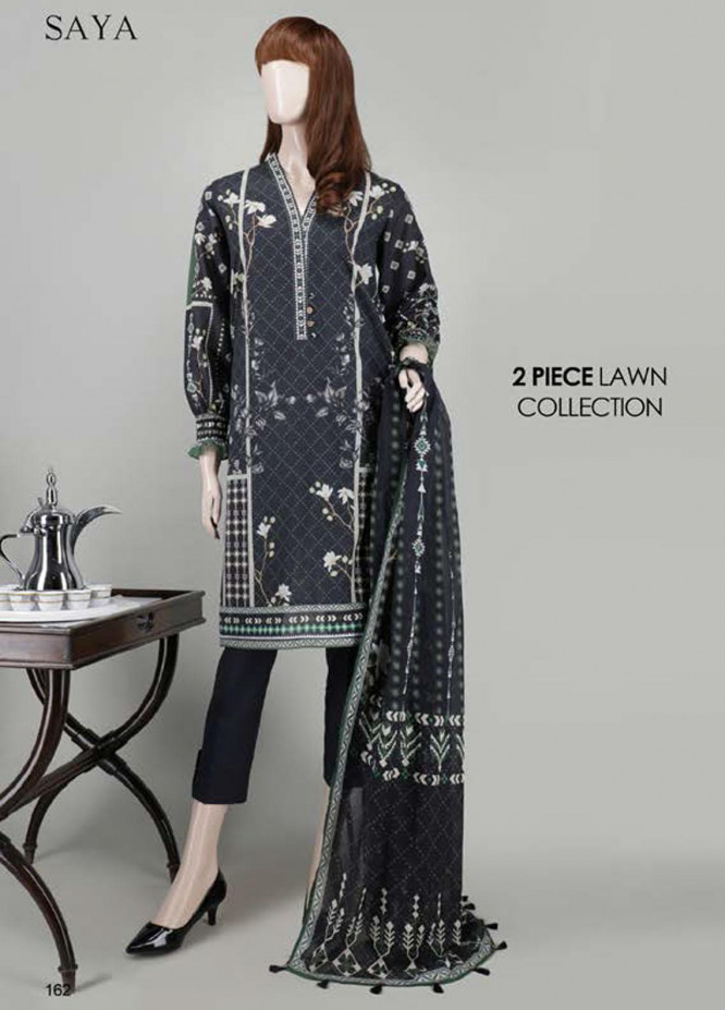 Saya Embroidered Lawn Suits Unstitched 2 Piece SY21SS TRIBAL MANIA (UB-2023-12A) - Spring / Summer Collection