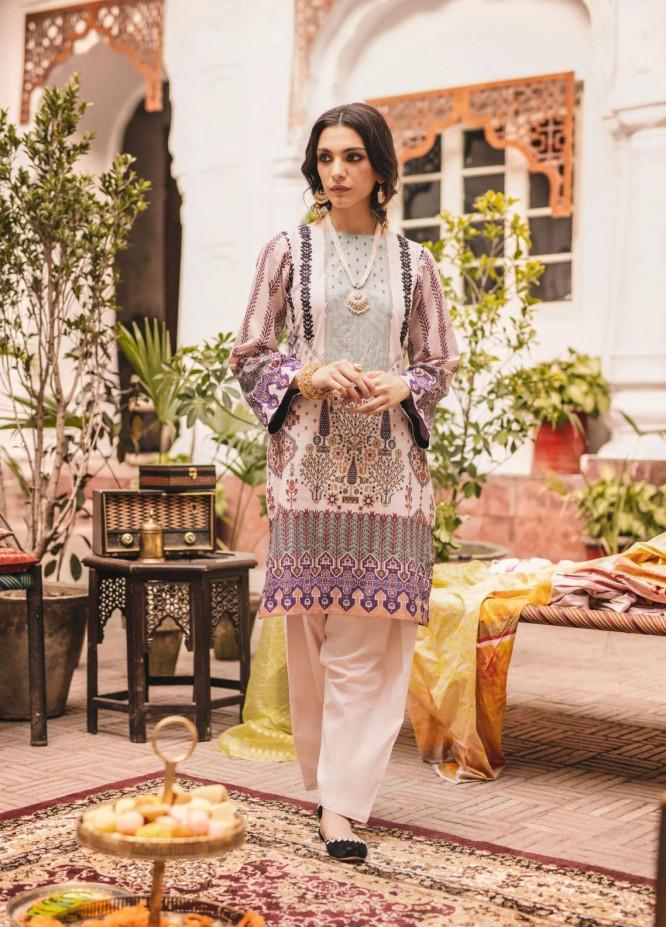 Seroli Luxury Pret  Lawn Shirt SAMARKAND