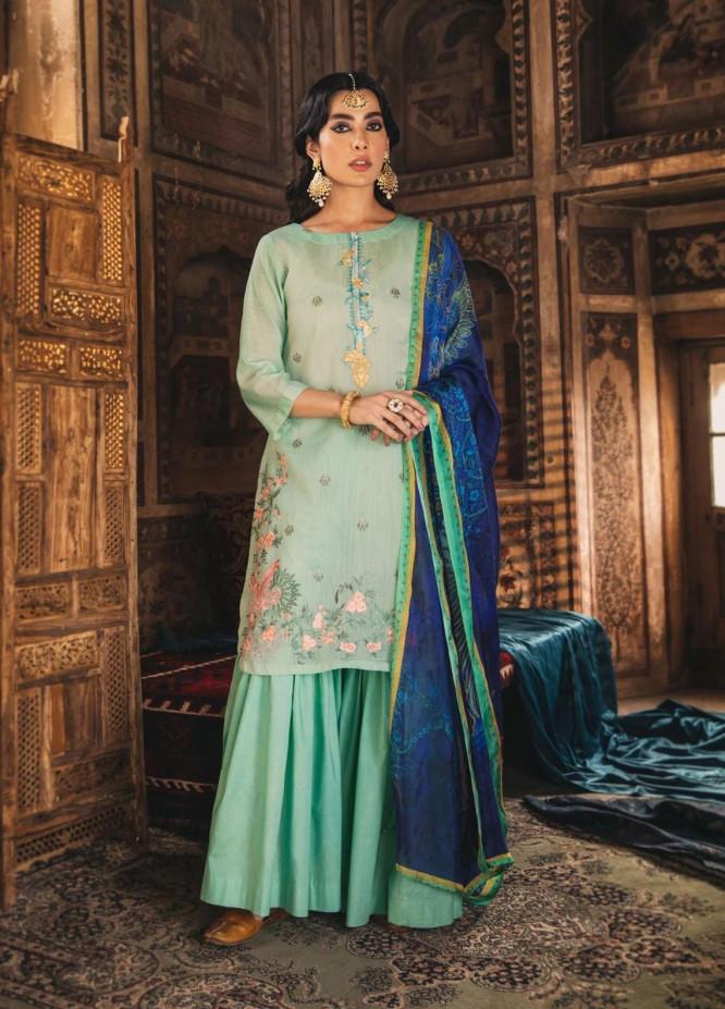 Seroli Luxury Pret  Cotton 2 Piece Suit WASAL