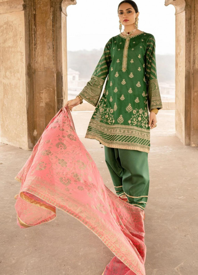 Seroli Embroidered Lawn Suits Unstitched 3 Piece SRL21S 001 Banaras - Spring / Summer Collection