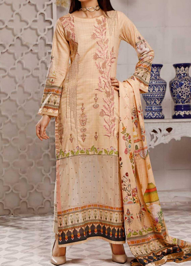 Shahkar by VS Textiles Embroidered Lawn Suits Unstitched 3 Piece VS21SK D-202 - Summer Collection