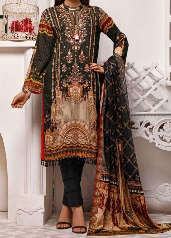 Shahkar by VS Textiles Embroidered Lawn Suits Unstitched 3 Piece VS21SK D-207 - Summer Collection