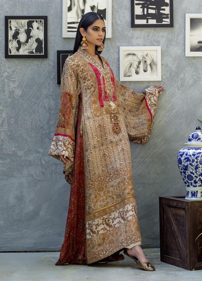 Shamaeel Ansari Luxury Pret  Silk Shirt SW-NV 5
