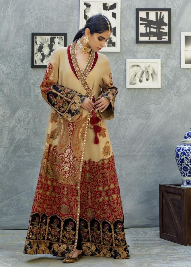 Shamaeel Ansari Luxury Pret  Silk Shirt SW-NV 3