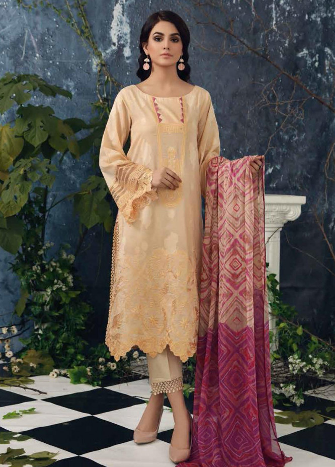 Sheen by Charizma Embroidered Lawn Suits Unstitched 3 Piece CRZ21SH Retro Chic SH-06 - Summer Collection