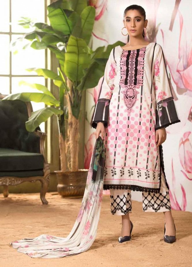Sheen by Charizma Embroidered Lawn Suits Unstitched 3 Piece CRZ21-SH2 15 - Summer Collection