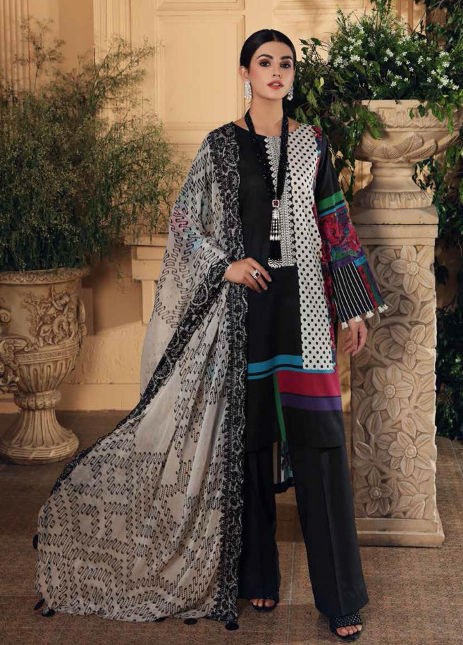 Sheen by Charizma Embroidered Lawn Suits Unstitched 3 Piece CRZ21-SH2 18 - Summer Collection