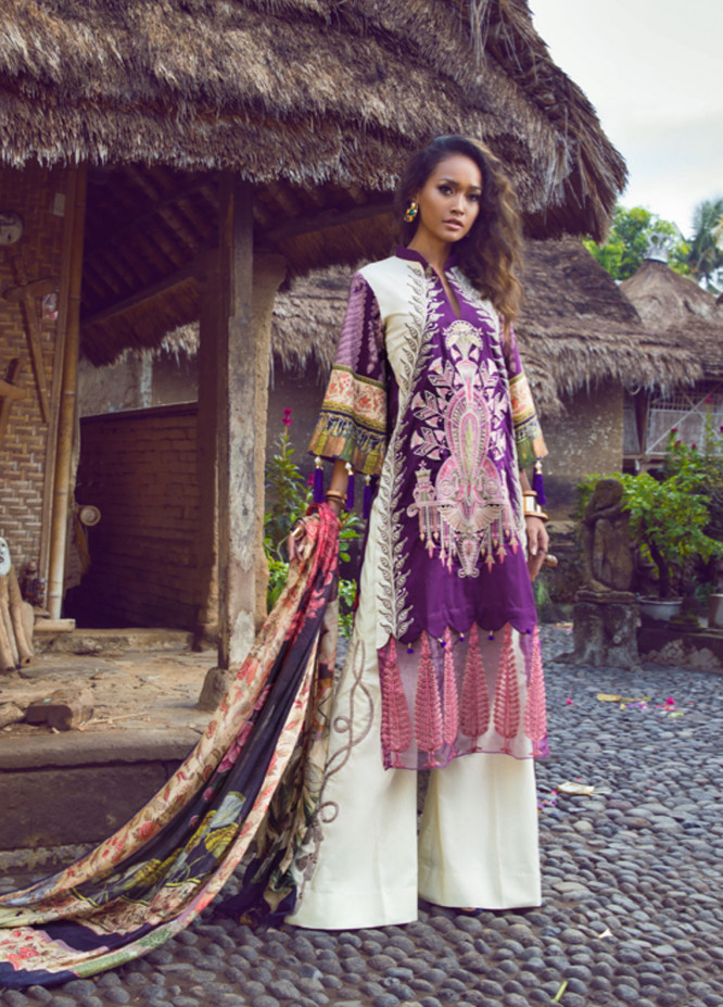 Shiza Hassan Embroidered Lawn Unstitched 3 Piece Suit SH19L 9B CARNIVAL - Spring / Summer Collection