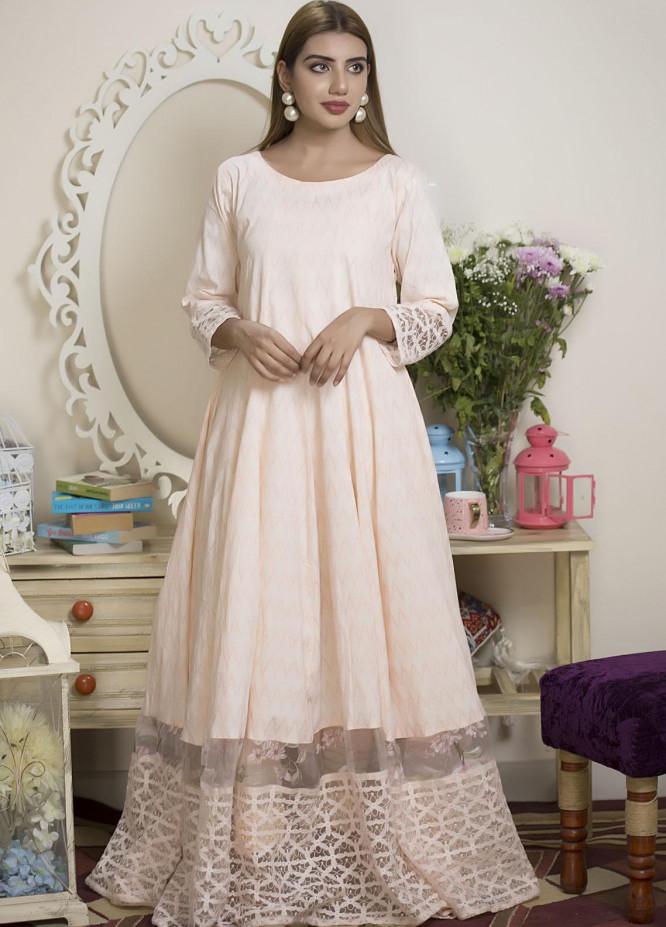 Sidra Mumtaz Luxury Pret  Lawn 2 Piece Suit Bubble Rose