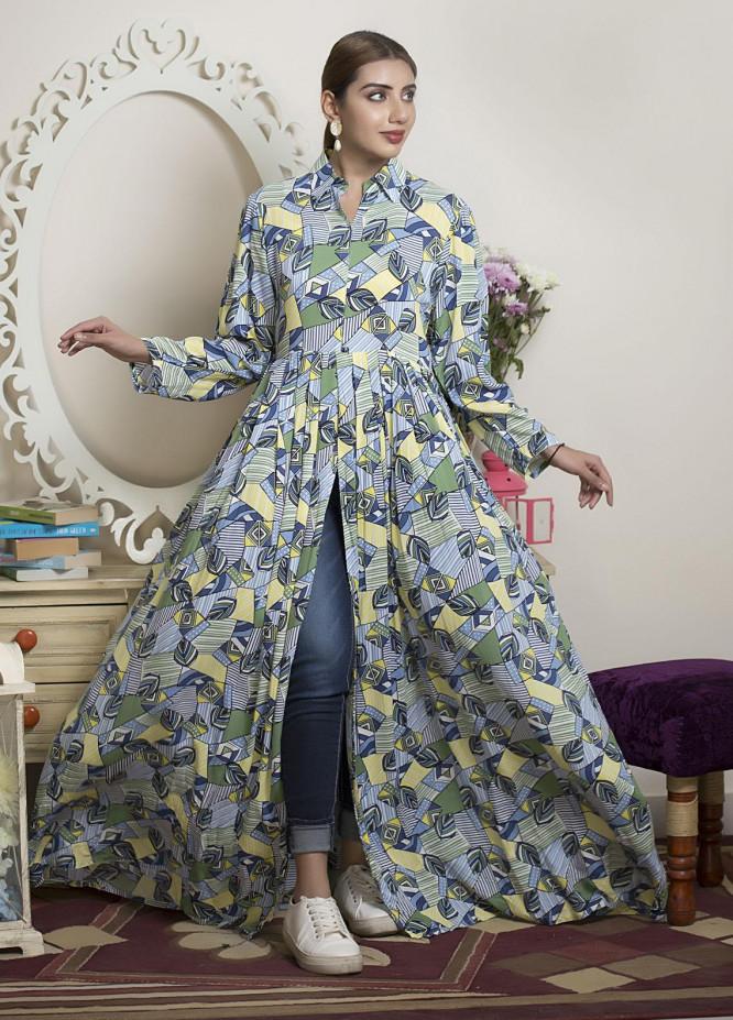 Sidra Mumtaz Luxury Pret  Lawn Shirt Maze Craze