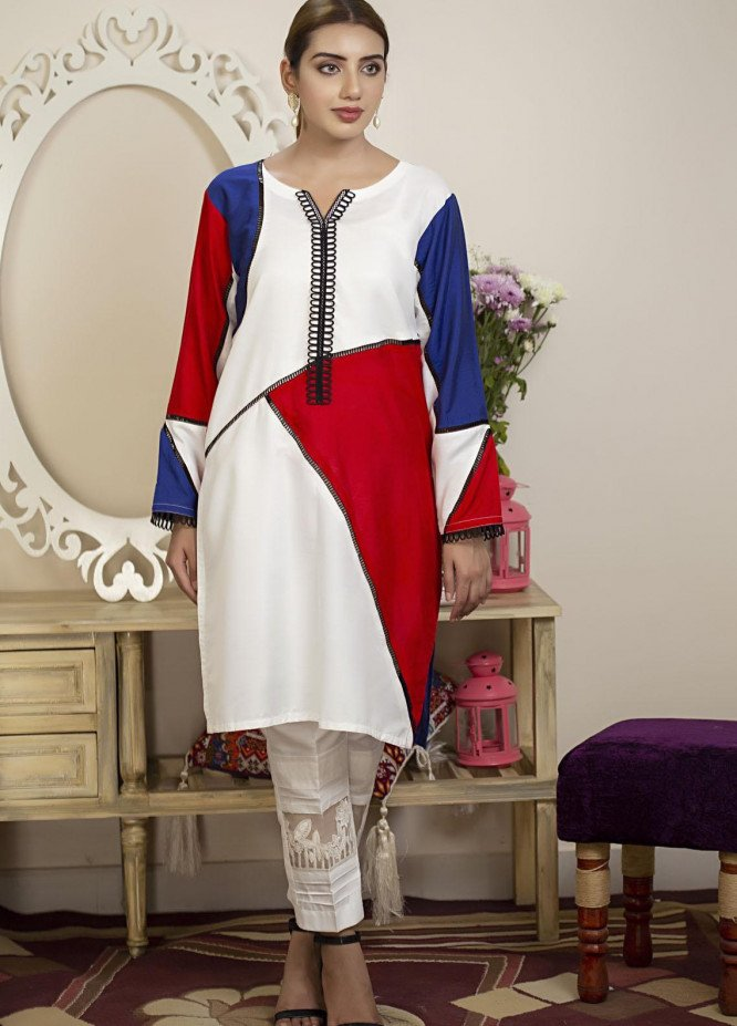 Sidra Mumtaz Luxury Pret  Cotton Silk 2 Piece Suit Trio