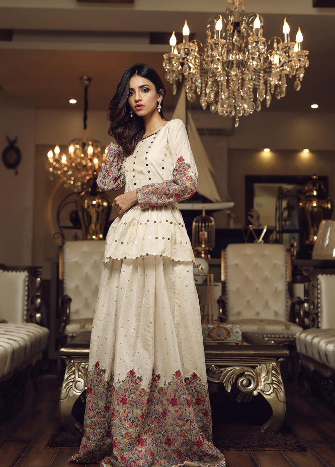 Sidra Mumtaz Embroidered Missouri Stitched 3 Piece Suit E-AW01-1705-ALLURING WORLD