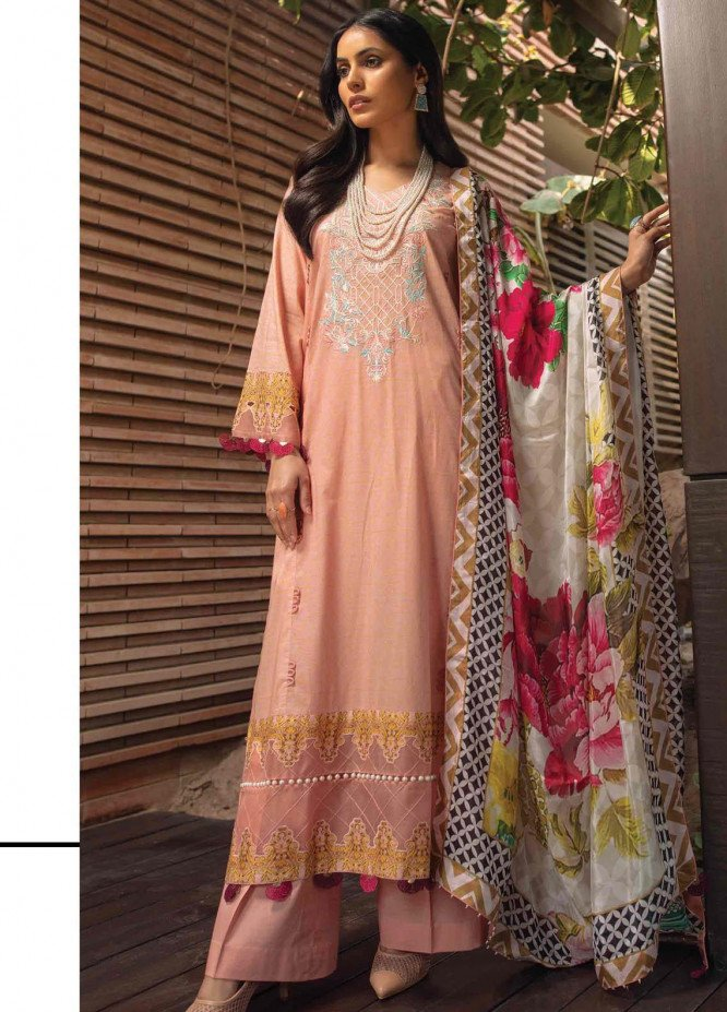 Taabir By Afsaneh Embroidered Lawn Suits Unstitched 3 Piece AFH21T Mah Bano - Summer Collection
