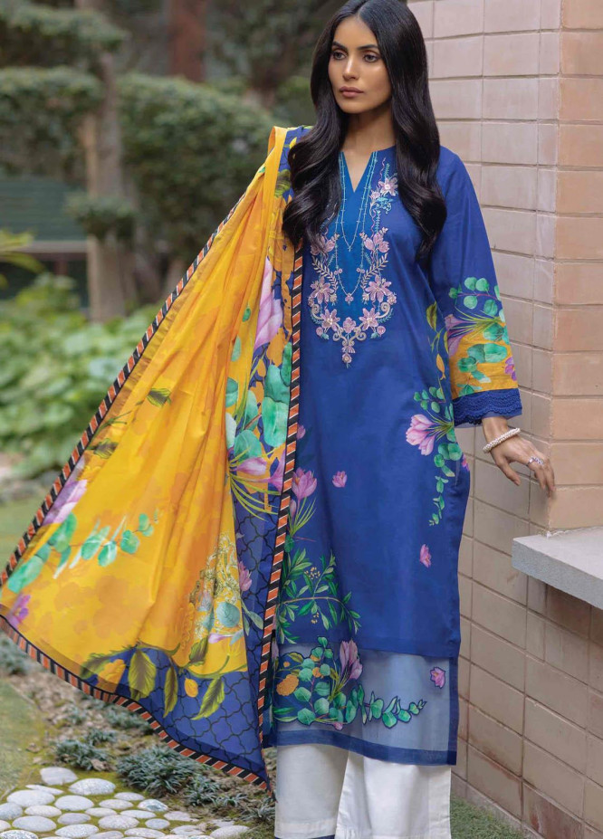 Taabir By Afsaneh Embroidered Lawn Suits Unstitched 3 Piece AFH21T Ulfat - Summer Collection