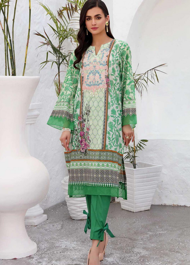 Taabir By Afsaneh Embroidered Lawn Suits Unstitched 2 Piece AFH21T-2 03 Ayden-A - Summer Collection