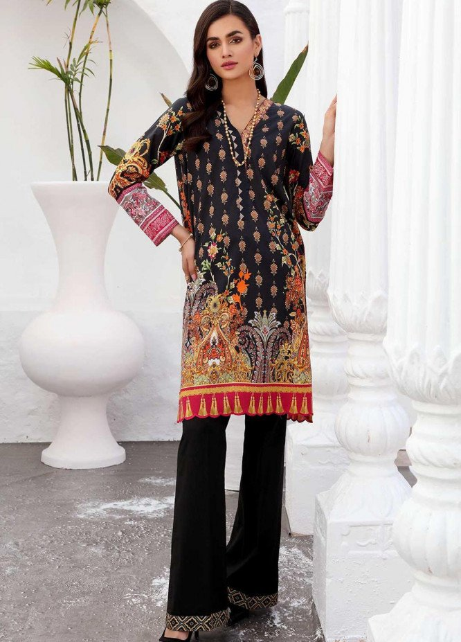Taabir By Afsaneh Embroidered Lawn Suits Unstitched 2 Piece AFH21T-2 10 Mahab-B - Summer Collection