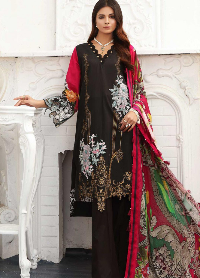 Taabir By Afsaneh Embroidered Lawn Suits Unstitched 3 Piece AFH21T-2 17 Tara - Summer Collection