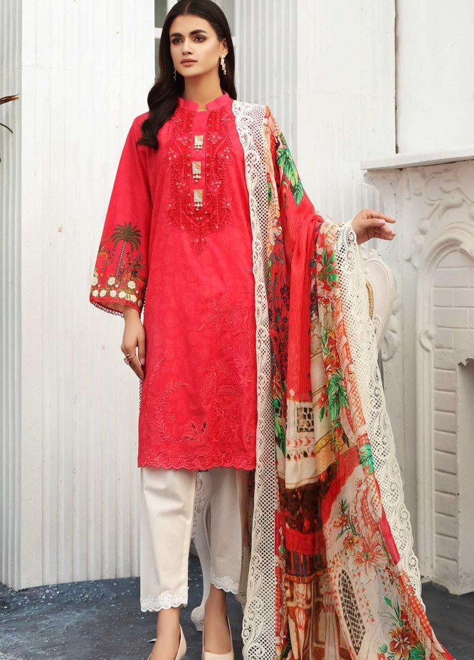 Taabir By Afsaneh Embroidered Lawn Suits Unstitched 3 Piece AFH21T-2 18 Mahroosh - Summer Collection