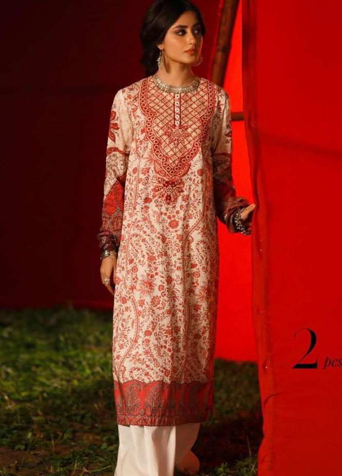 Tabeer by Cross Stitch Embroidered Lawn Suits Unstitched 2 Piece CS21T 24-GLIDED STITCH - Summer Collection