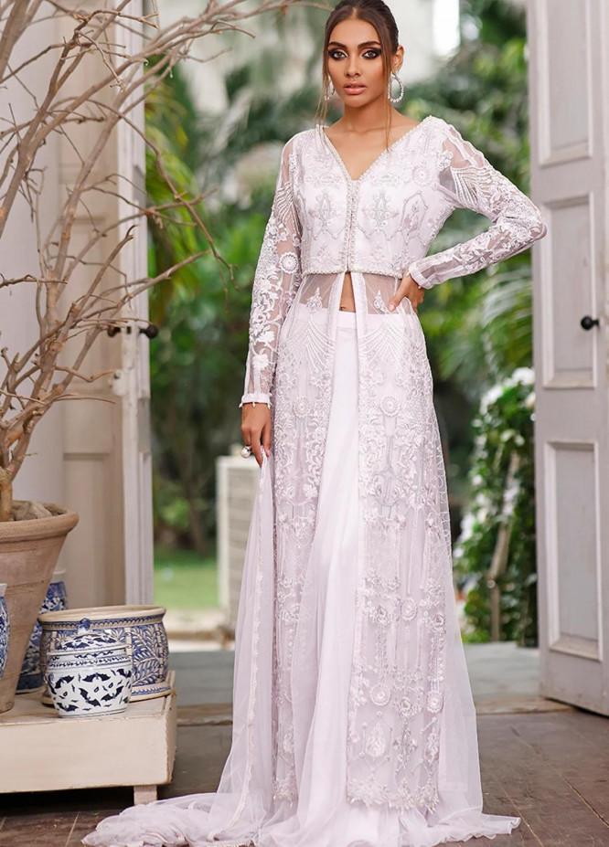 Threads & Motifs Luxury Pret Embroidered Net 2 Piece Dress THM21F 7228