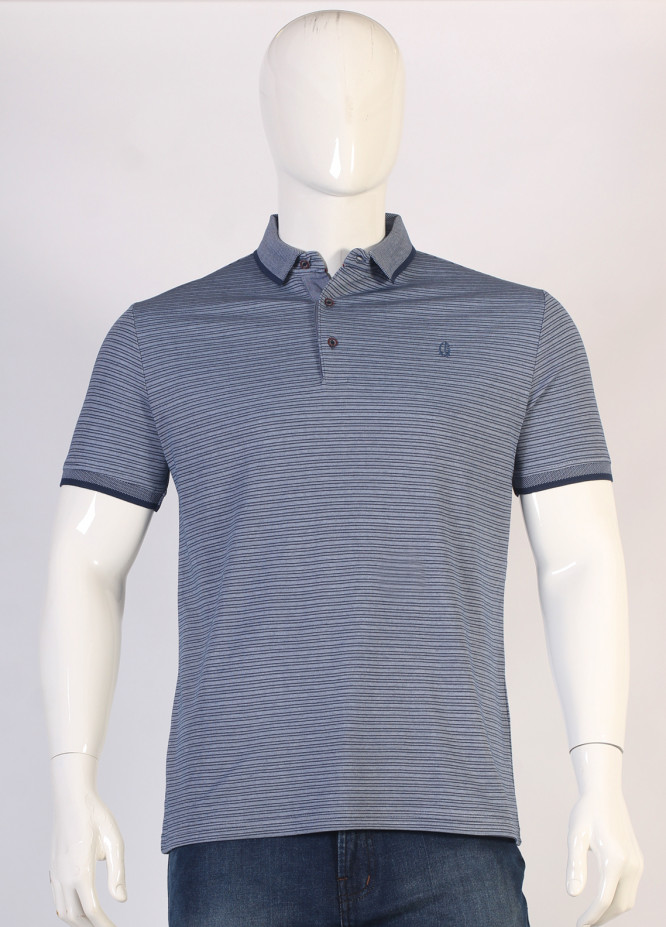 Sanaulla Exclusive Range Jersey Polo T-Shirts for Men - Grey TKM18S 361-01
