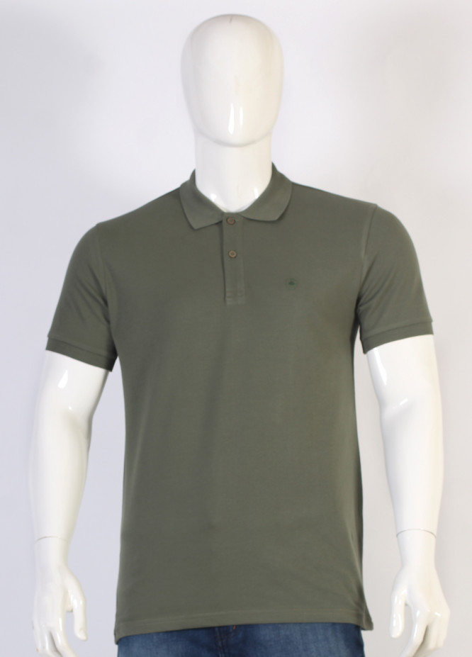 Sanaulla Exclusive Range Jersey Polo T-Shirts for Men - Green TKM18S V-19