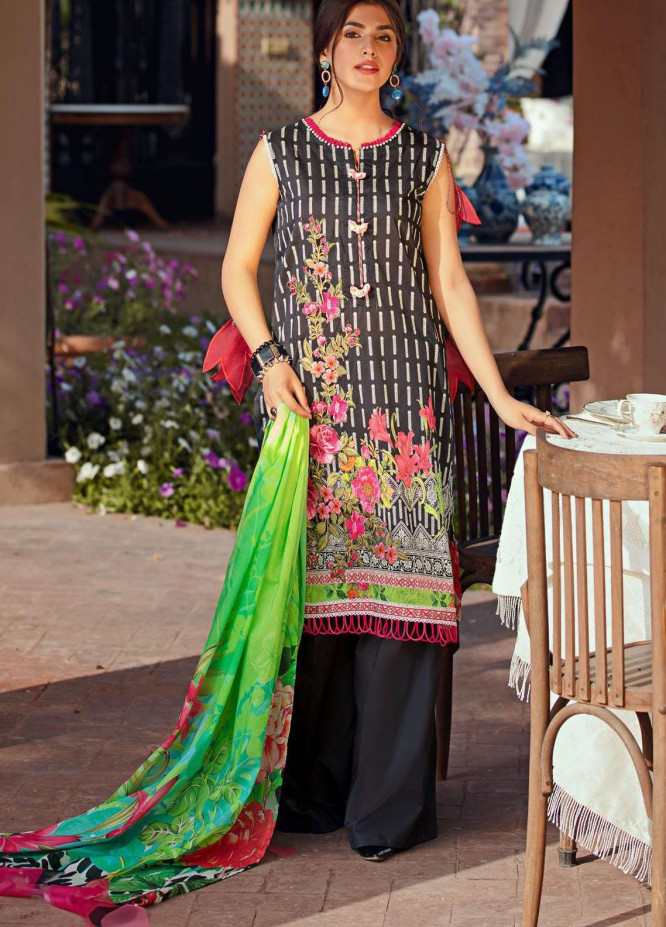 Umang by Motifz Embroidered Lawn Suits Unstitched 3 Piece MT21-LU2 2894 Raat Bagh - Summer Collection